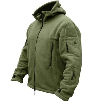 New Military Tactical Outdoor Softshell Fleece Jacket Men's Army Polartec Sportswear Thermal Hunting Hiking Sport Hoodie Jacket