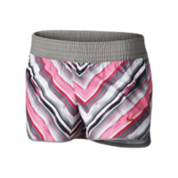 Nike Pattern Girls' Shorts Size M (Grey)
