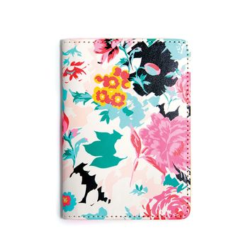 The Getaway Passport Holder - Florabunda