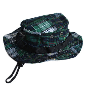 Petawawa Boonie Hat - Patchwork Plaid