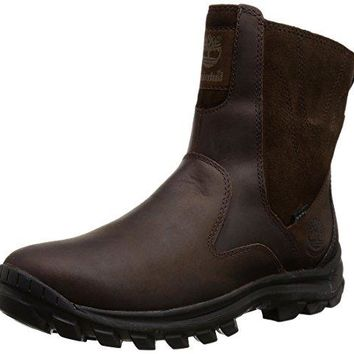 Timberland Men's Chillberg Mid Side-Zip INS Waterproof Winter Boot  timberland boots for men
