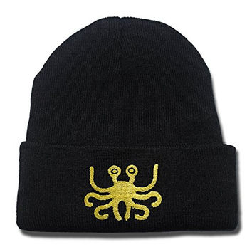 YWBI Flying Spaghetti Monster Logo Beanie Fashion Unisex Embroidery Beanies Skullies Knitted Hats Skull Caps