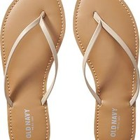 Women's Faux-Leather Capri Sandals