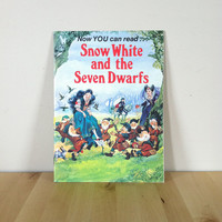 Snow White and the Seven Dwarfs {1980} Vintage Book