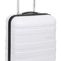 American Tourister HS MV+ Small/Cabin 50cm Hardside Suitcase White Checks 31001