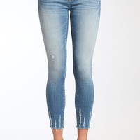 Adriana Ankle Super Skinny in Light Shaded Glam