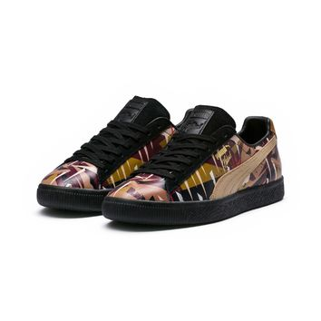 puma x naturel clyde moon jungle mens sneakers  number 1