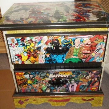 Marvel/DC Comic Dresser