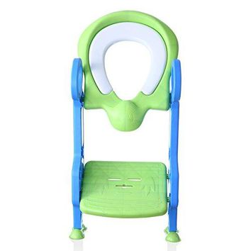 Cushioned Potty Ladder Training Seat