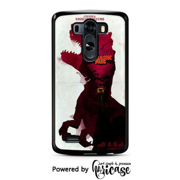 Jurassic Park Red LG 3 | 4 | 5 Cases haricase.com