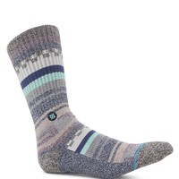 Stance Azteca Crew Socks - Mens Socks - Gray - One