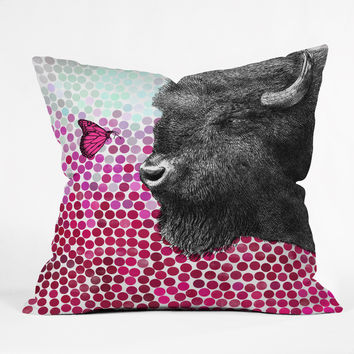 Garima Dhawan New Friends 4 Outdoor Throw Pillow
