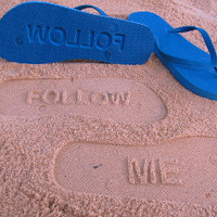 Follow Me Flip Flops by Glamfoxx