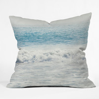 Catherine McDonald Malibu Waves Outdoor Throw Pillow