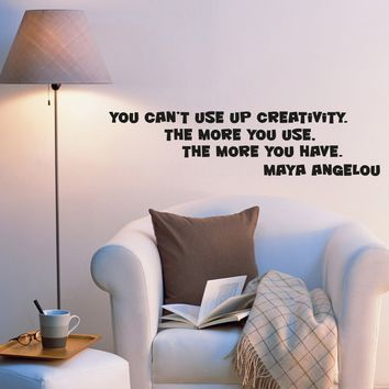 Wall Decal Creative Words Quotes Wise Lettering Quotes Vinyl Sticker (ed1054) (22.5 in X 5.5 in)