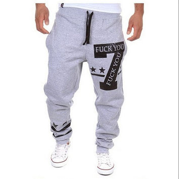 Mens Joggers sport pants men cargo jogging harem sweatpants hip hop pantalon homme compression jogger trousers pantalones hombre [9221779396]