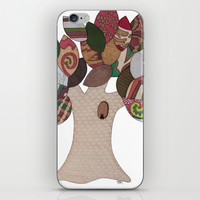 Imp Tree iPhone & iPod Skin by Erin Brie Art