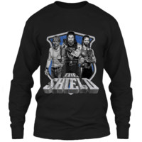 WWE The Shield Graphic  LS Ultra Cotton Tshirt