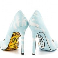 """Maya"" Heels by Taylorsays (Blue)"