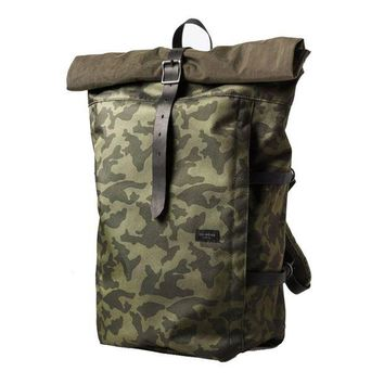 ONETOW Diamond Supply Co. - Camo Rolling Bag - Olive Camo