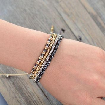 Adjustable Metal Bracelets Four Different Styles