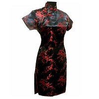 Cheongsam Mini Dress
