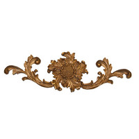 Hickory Manor House French Sunflower Cartouche Wall Décor