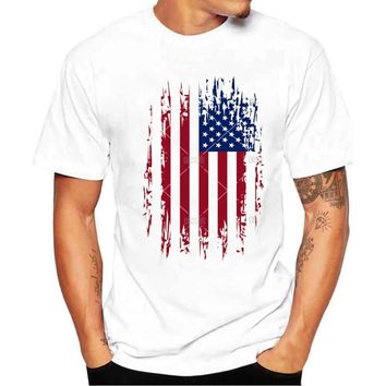 American Flag Patriotic T-shirt