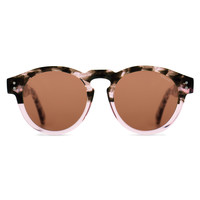 KOMONO Clement Crafted Series Sunglasses in Rose Dust