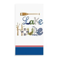Lake House 3-Ply 15-Pack Guest Towels