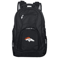 Denver Broncos  Backpack Laptop-Black