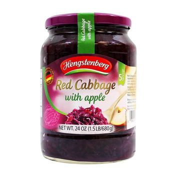 Hengstenberg - Red Cabbage with Apple, Jar, Germany, 24 oz. (680 g)