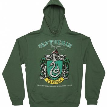 Women's Harry Potter Slytherin Team Quidditch Hoodie