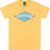 Thrasher Diamond Tee XL Honey Yellow
