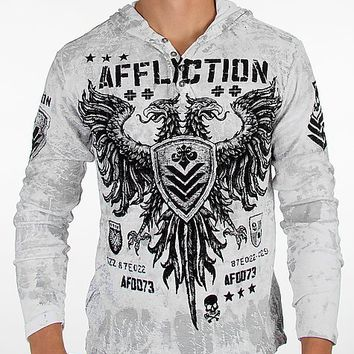Affliction Value Hooded Henley