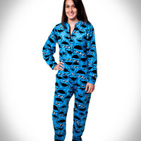 'Cookie Monster' Footie Pajamas