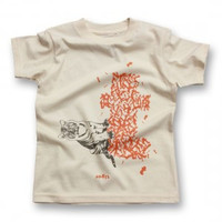 biome5 Organic Letter Tees T: Tiger