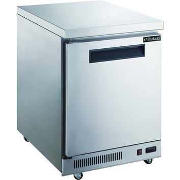 Commercial Kitchen Single Door Stainless Steel Undercounter Freezer 29""