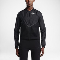 The Nike Tech Hypermesh Bomber Women's Jacket.
