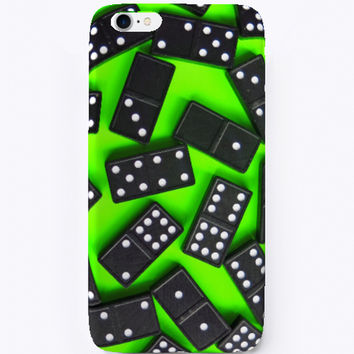 Neon Dominoes IPhone Case
