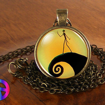 Nightmare Before Christmas Jack Handmade Fashion Necklace Pendant Jewelry Gift