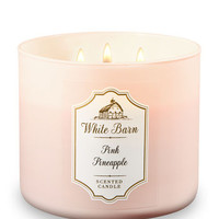 PINK PINEAPPLE3-Wick Candle