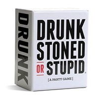 Party Game Toy DRUNK STONED OR STUPID  250 prompt cards