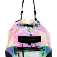 Aurora Borealis Clear Iridescent Backpack