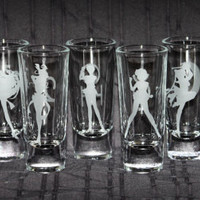 Individual Dual-Sided Sailor Moon Shooters - Select from the 9 Planetary Symbols