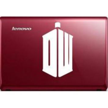 DW Taris Doctor Who Logo Car Window Ipad Tableet PC Notebook Cumputer Decal Sticker
