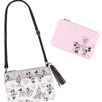 Disney Parks Mickey & Minnie in the Park Crossbody with Case New with Tags