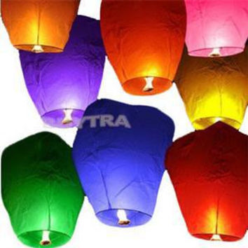 Chinese Style Sky Lanterns Balloons for Party Wedding Making Wishes Blow Up Balloons
