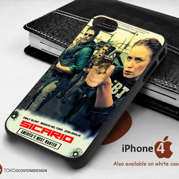 Sicario America's Most Wanted for iPhone 4/4S, iPhone 5/5S, iPhone 6, iPod 4, iPod 5, Samsung Galaxy Note 3, Galaxy Note 4, Galaxy S3, Galaxy S4, Galaxy S5, Galaxy S6, Phone Case