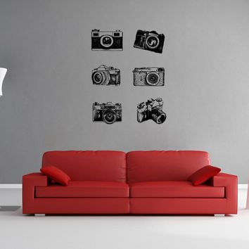 ik1137 Wall Decal Sticker camera film studio photographer